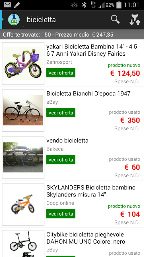 TrovaPerMe prezzi e shopping- screenshot