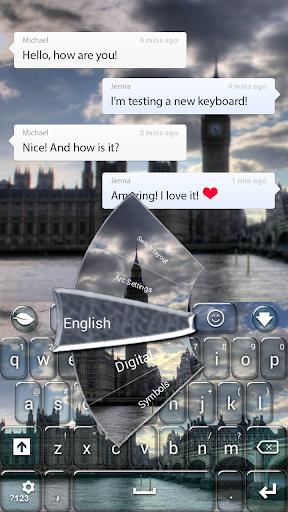 倫敦城鍵盤