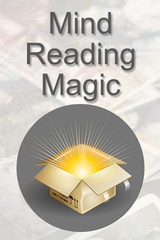Mind Reading Magic