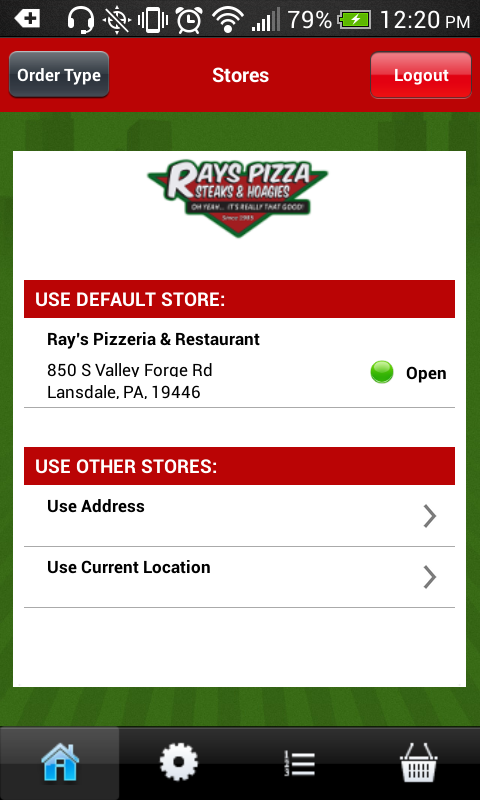 Ray's Cheesesteaks- screenshot