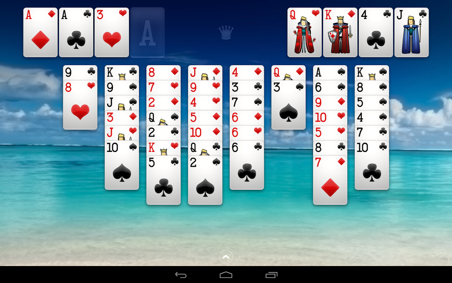 Spider Solitaire+ - screenshot
