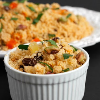 Couscous With Dried Fruits & Nuts.