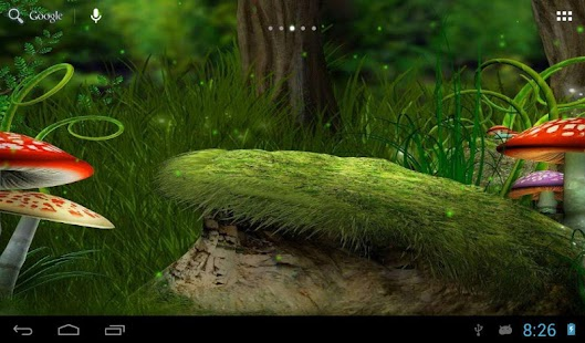 Fireflies in the fairy forest screenshot