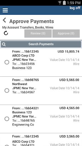 J P  Morgan ACCESS Mobile by JPMorgan Chase (Google Play