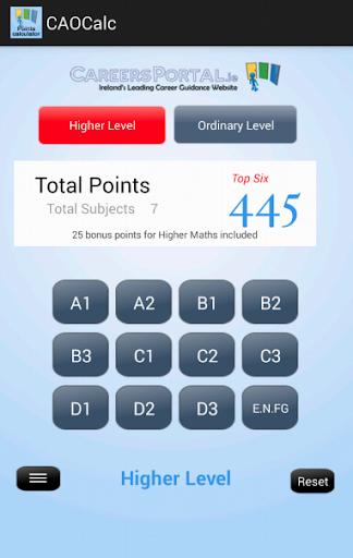 CAOCalc CAO Points Calculator