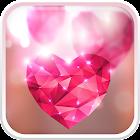 Cuori Diamante Sfondo Animato icon