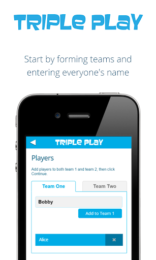 Triple Play Party Game