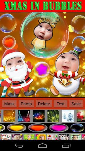 聖誕泡泡相