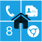 Home8 like Windows8 launcher icon