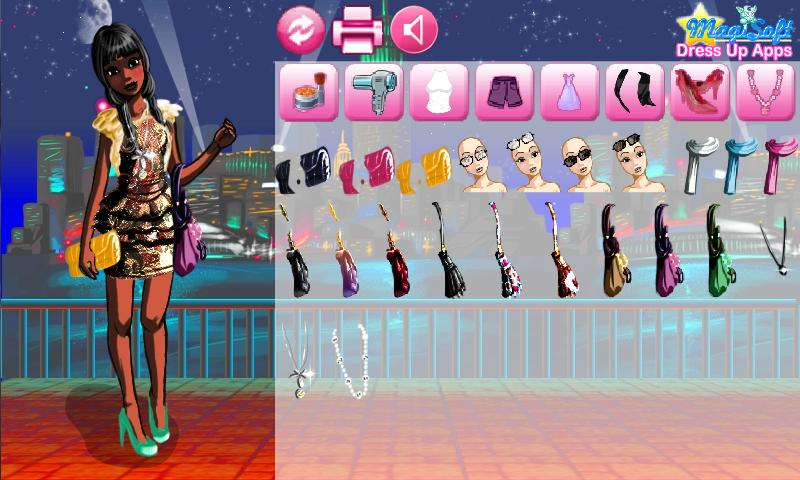 Dress Up Jill Chic Lite - screenshot