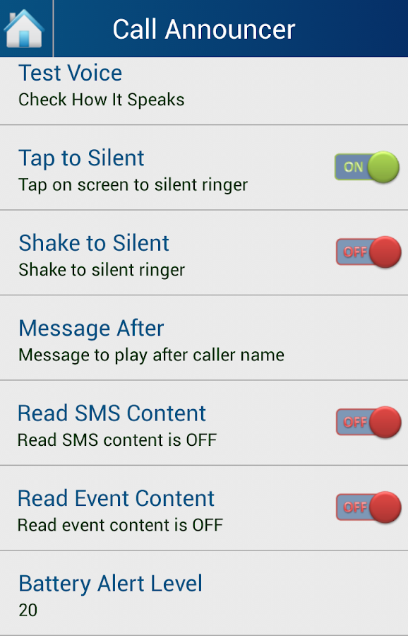 Caller Name Announcer - Talker - screenshot