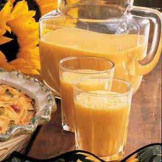 Frosty Orange Drink.