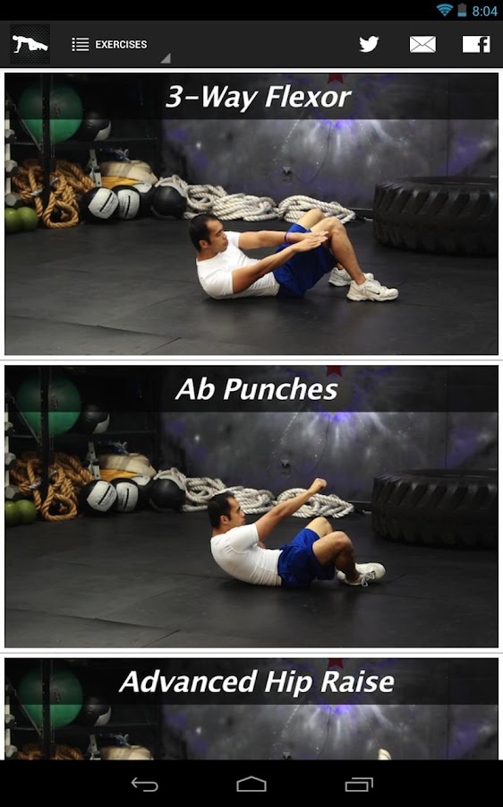The Abs Challenge Workout - screenshot