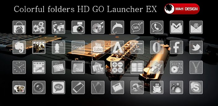 T-Glass HD GO Launcher EX apk v1.0