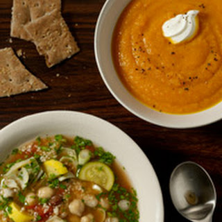 Gingered Sweet Potato & Carrot Soup