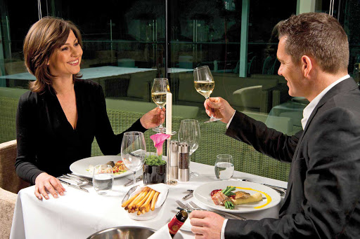 Scenic-Cruises-La-Rive-Dining - Couples checked into Danube Deck, Junior and Royal Suites can look forward to sumptuous dishes, chilled wine and a romantic atmosphere at Table La Rive aboard your Scenic sailing.