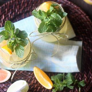 Citrus Paloma Cocktail.