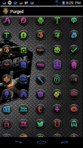 PURGED ICONS FOR MULTILAUNCHER v3.0.7