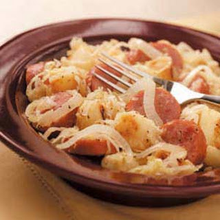 Sausage and Sauerkraut.