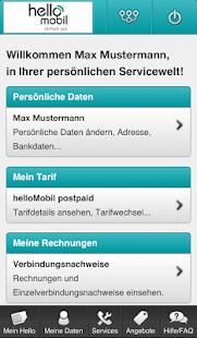 helloMobil Servicewelt - screenshot thumbnail