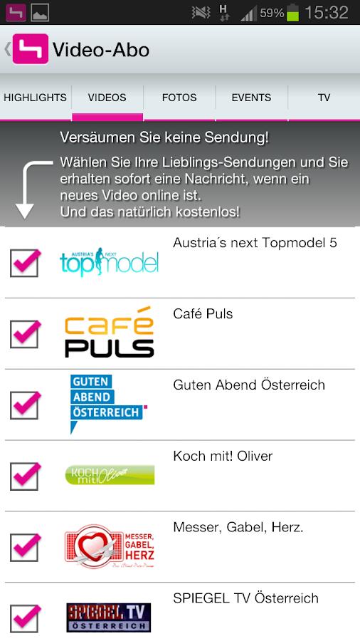 PULS 4- screenshot