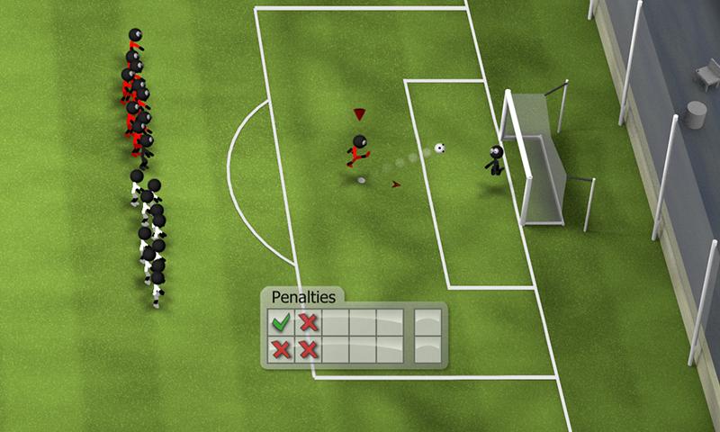 Stickman Soccer 2014 screenshot #4