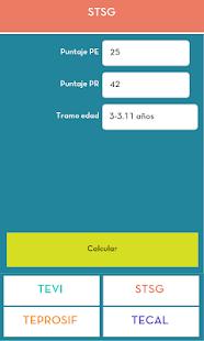 Fonoaudiología TEL Calculator