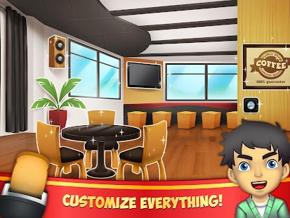 My Coffee Shop - Coffeehouse Management Game- screenshot thumbnail