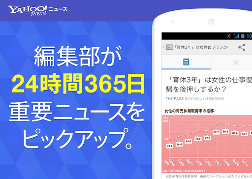 Yahoo ニュース - Yahoo JAPAN公式アプリ