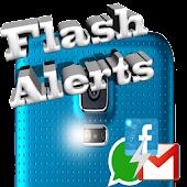 flash de alerta máxima