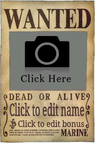 Wanted Poster Maker- screenshot