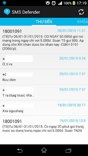 SMS Defender - Spam Filter