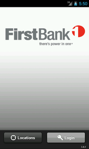 First Bank - Mobile Banking