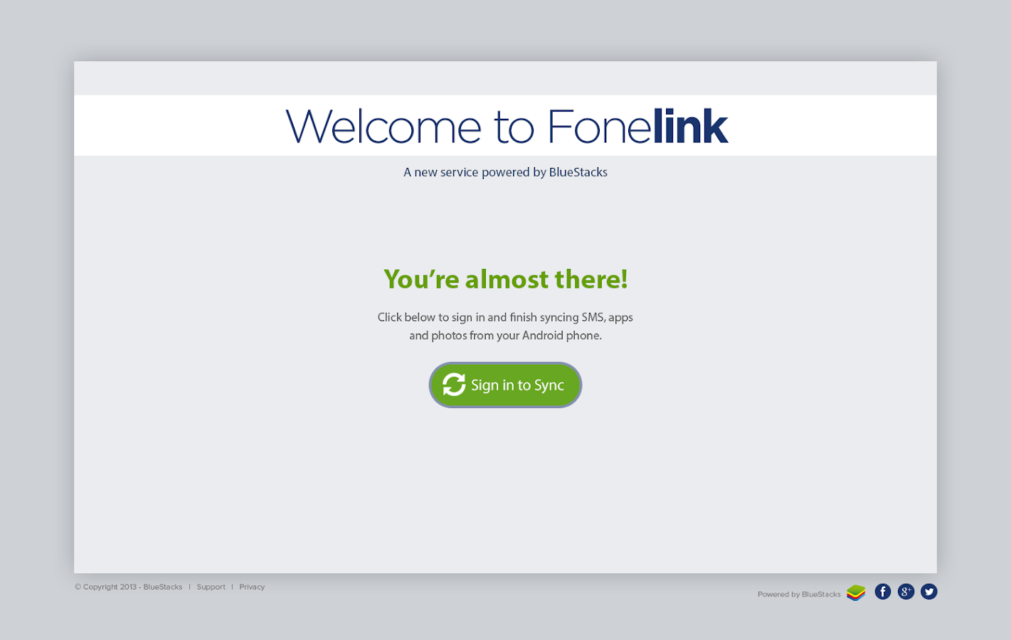 Fonelink - screenshot