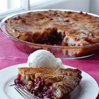 Easy Cranberry & Apple Cake