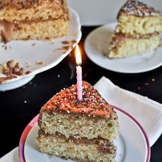 Yellow Birthday Cake.