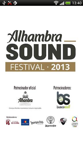 Alhambra Sound Festival