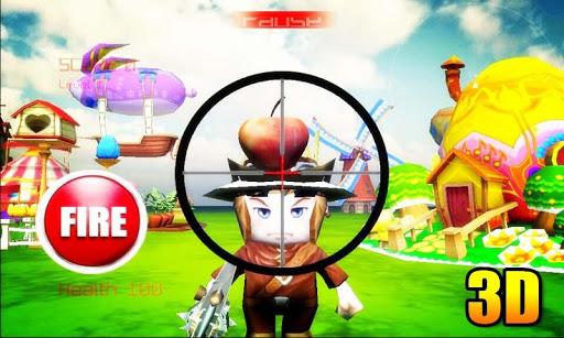 蘋果射擊3D - 3