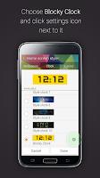 Screenshot of Blocky Clock for Gear Fit