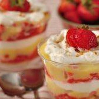 Strawberry Lemon Curd Trifle Recipe & Video