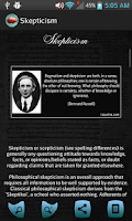Screenshot of Philosophy