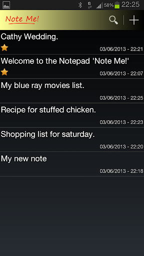 Note Me - Notepad