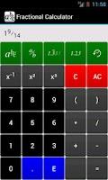 Screenshot of Fraction Calculator