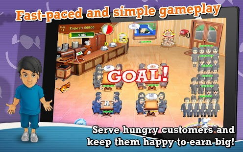 Lunch Rush HD Free- screenshot thumbnail
