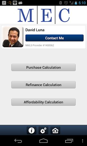 David Luna's Mortgage App