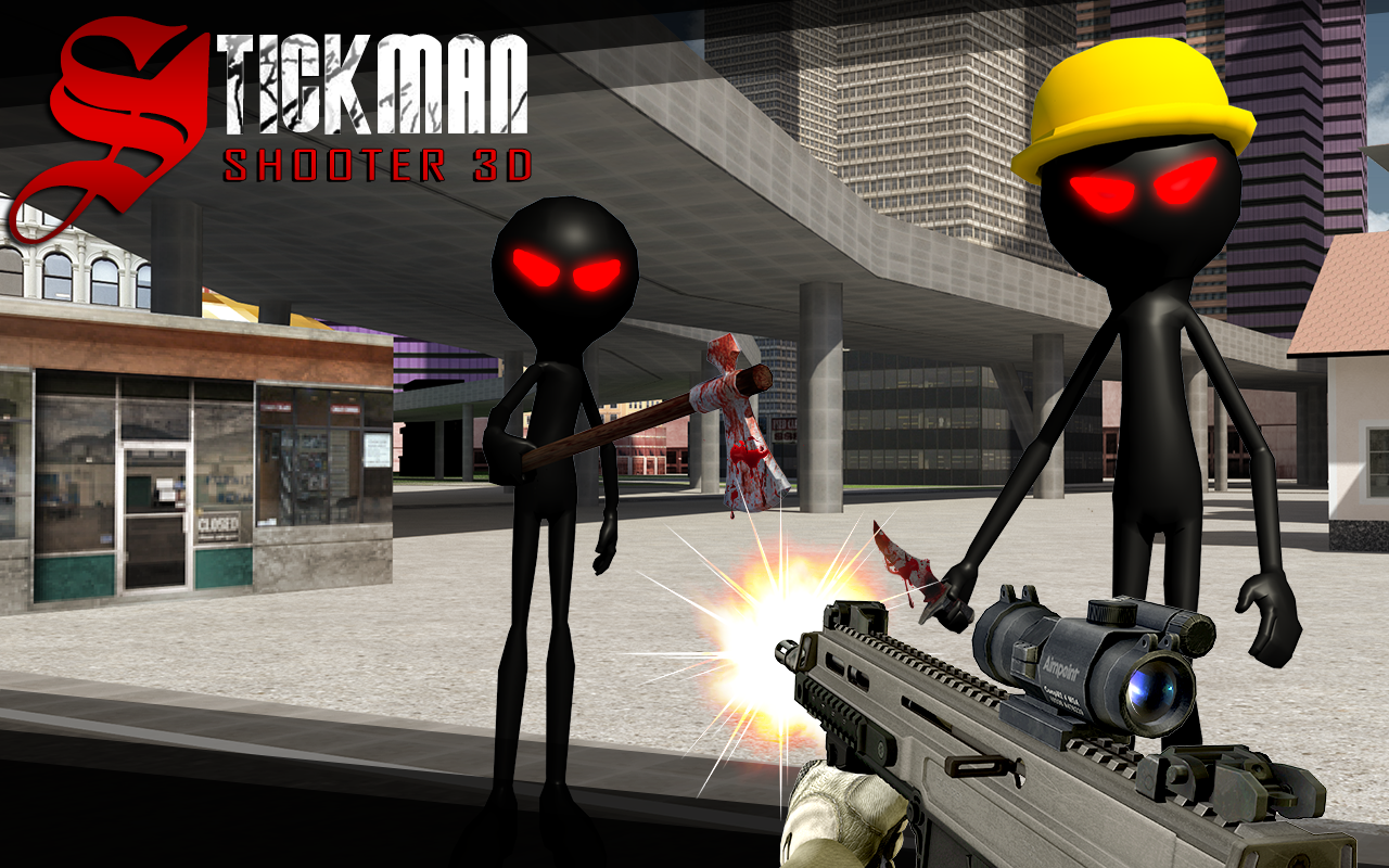 Stickman Shooter 3D- screenshot