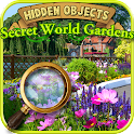 Hidden Objects Secret Gardens! icon