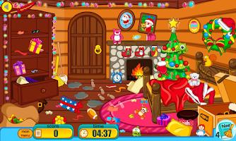 Screenshot of Clean up for santa claus