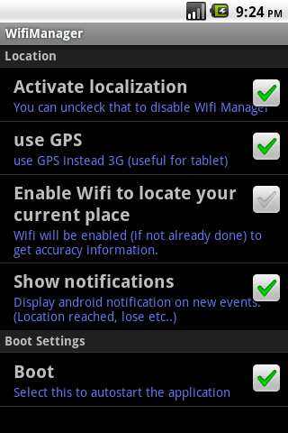 WifiManager PRO (for tablet)- screenshot