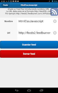 SenchaTouch FeedBurner screenshot 9